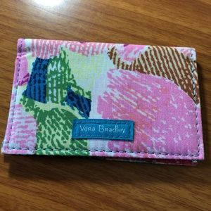 Card case/holder virtually new Vera Bradley RFID